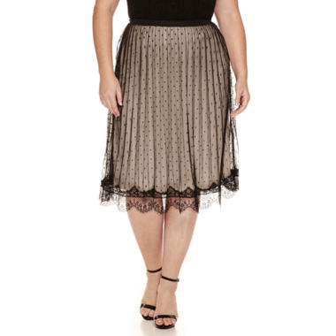 jcpenney.com | Worthington® Knit Pleated Skirt - Plus