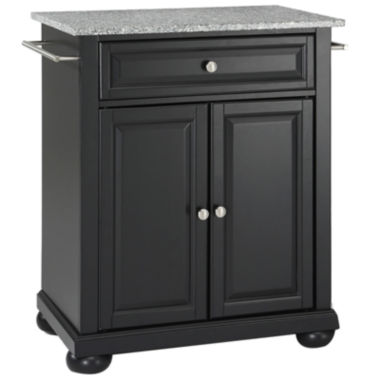 jcpenney.com | Caldwell Small Granite-Top Portable Kitchen Island