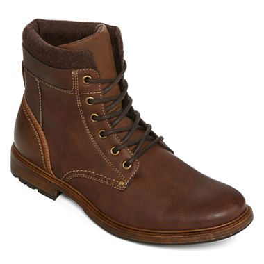 JF J. Ferrar Rufus Mens Lace-Up Boots