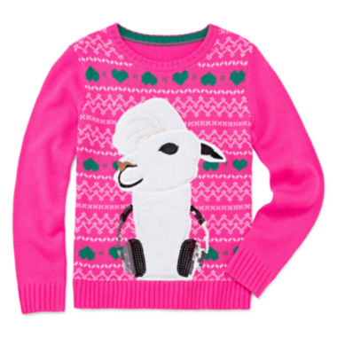 jcpenney.com | Total Girl® Christmas Sweater - Girls 7-16 and Plus
