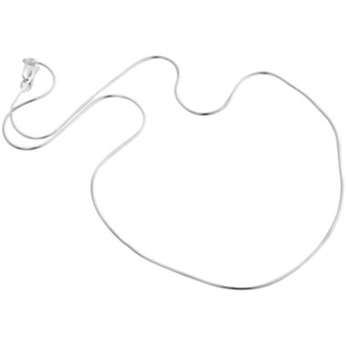 "jcpenney.com | Sterling Silver 16"" .8mm Snake Chain"