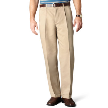 jcpenney.com | Dockers® Comfort Khaki Relaxed-Fit Pleated Pants