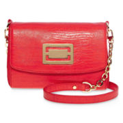 Liz Claiborne Hallmark French-Flap Shoulder Bag