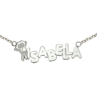 jcpenney.com | Personalized Dora Girls Sterling Silver Name Necklace