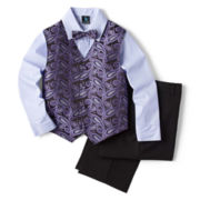Steve Harvey® Paisley Vest Set - Boys 8-18