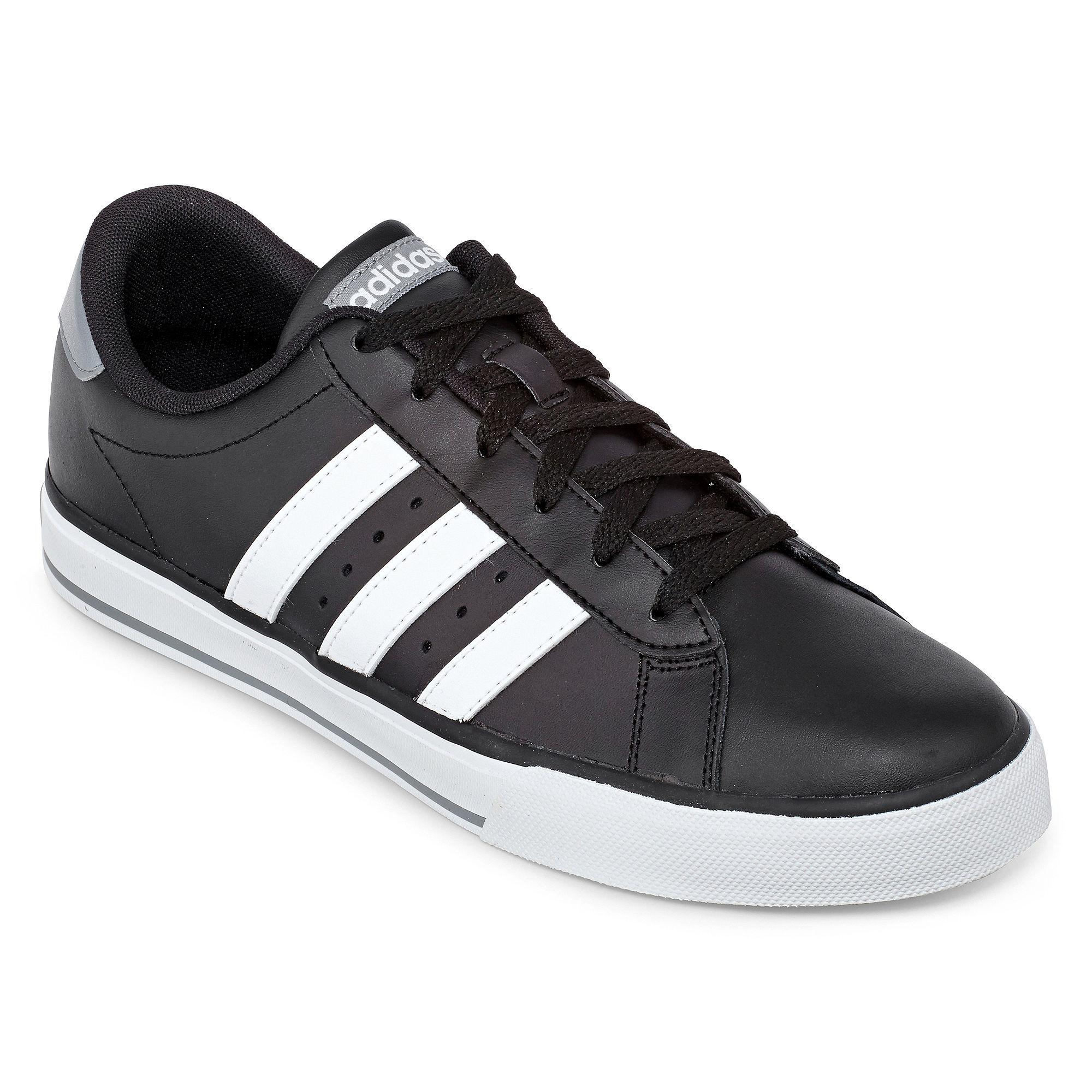 UPC 887383935316 product image for adidas Men's SE Daily Vulc Black/White/Dark  Grey