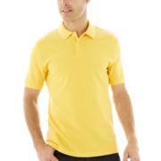 St. John's Bay® Short-Sleeve Piqué Polo