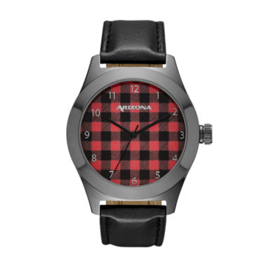 jcpenney.com | Arizona Mens Black Strap Watch-Fmdarz522