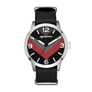 jcpenney.com | Arizona Mens Black Strap Watch-Fmdarz526