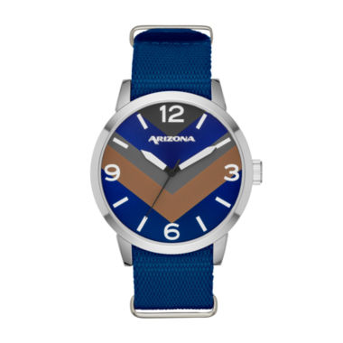 jcpenney.com | Arizona Mens Blue Strap Watch-Fmdarz527