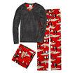 Pj Couture Fleece Pant Pajama Set with Blanket