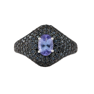 jcpenney.com | Womens Purple Tanzanite Sterling Silver Cocktail Ring