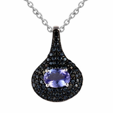 jcpenney.com | Womens Purple Chrome Diopside Pendant Necklace