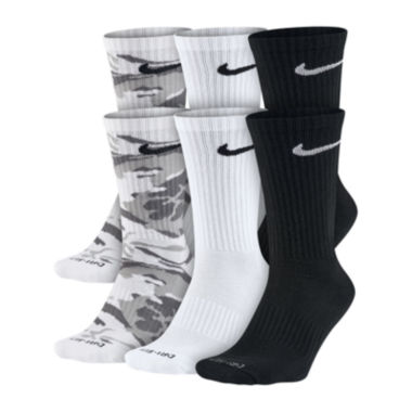 jcpenney.com | Nike® Mens 6-pk. Dri-FIT Mix Camo Crew Socks