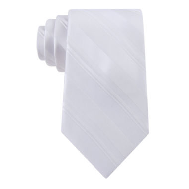jcpenney.com | Stafford Open Stripe Solid Tie