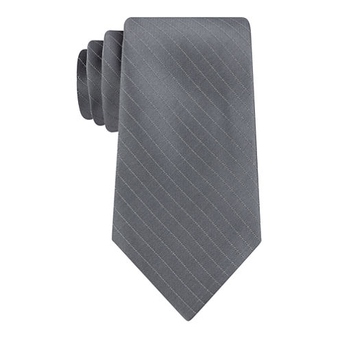 Stafford Simple Glitter Stripe Tie