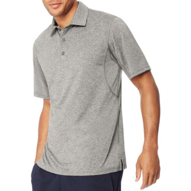 jcpenney.com | Hanes Quick Dry Short Sleeve Solid Jersey Polo Shirt