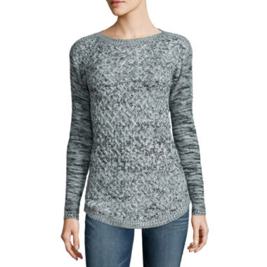 jcpenney.com | It S Our Time Long Sleeve Pullover Sweater-Juniors