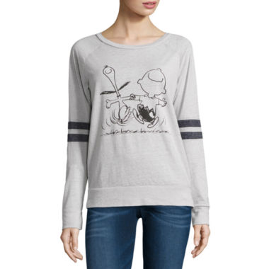 jcpenney.com | Peanuts Burnout Sweatshirt- Juniors