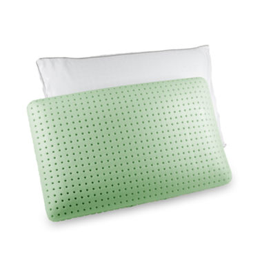 jcpenney.com | Authentic Comfort® Green Tea Jumbo Memory Foam Pillow