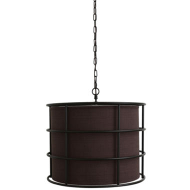 jcpenney.com | Décor Therapy Bronze Steel Cage Pendant Light