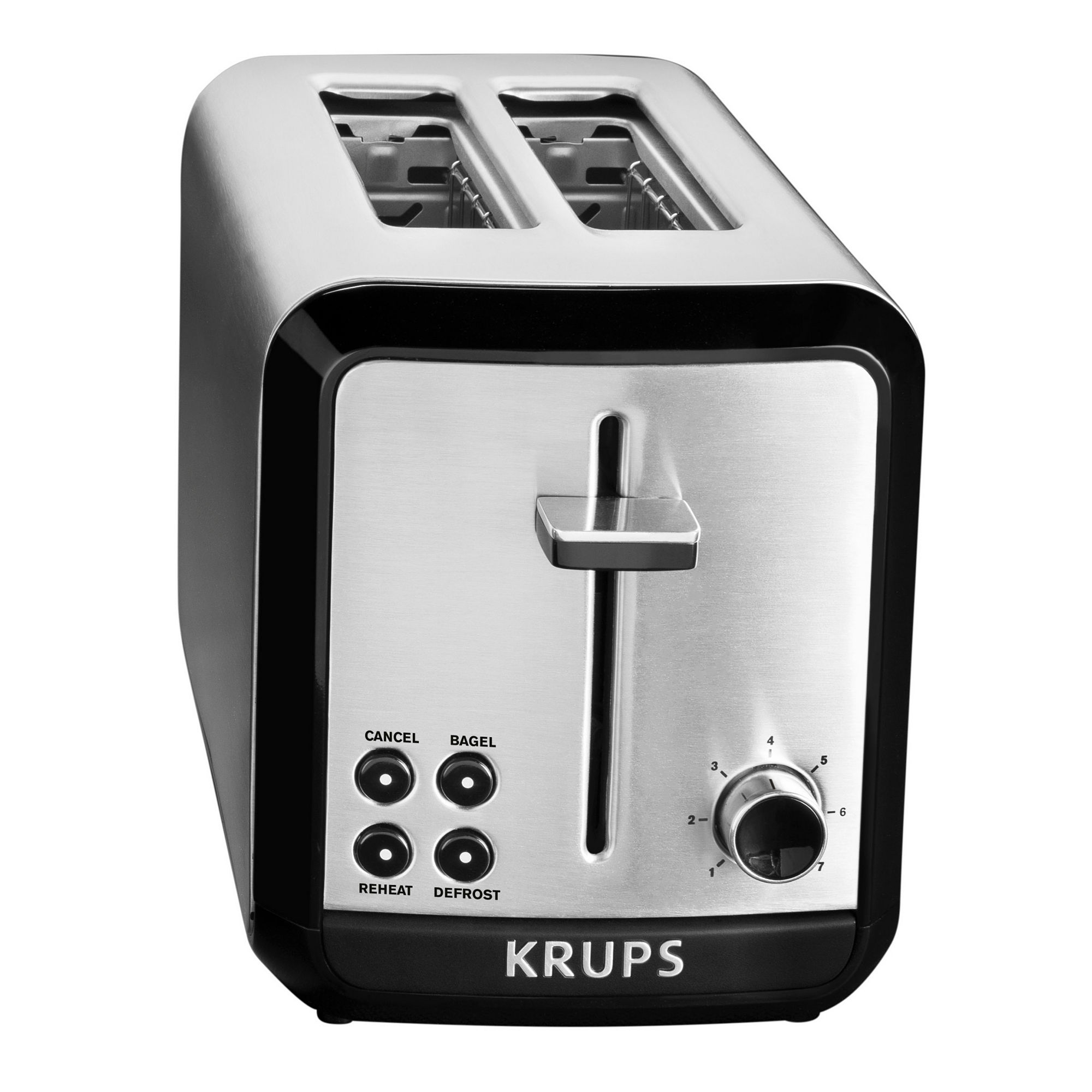 Krups, Savoy, KH311050, 2-Slice Toaster, Stainless Steel