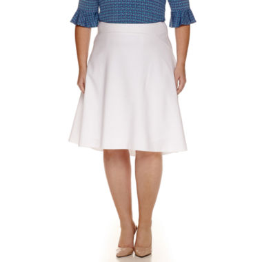 jcpenney.com | Worthington® A-Line Swing Skirt - Plus