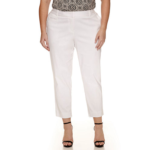 Worthington® Centennial Slim Suiting Ankle Pants - Plus