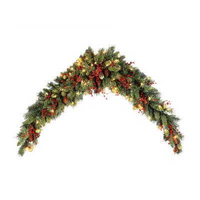 National Tree Co 6 Mantel Swag Christmas Garland Color