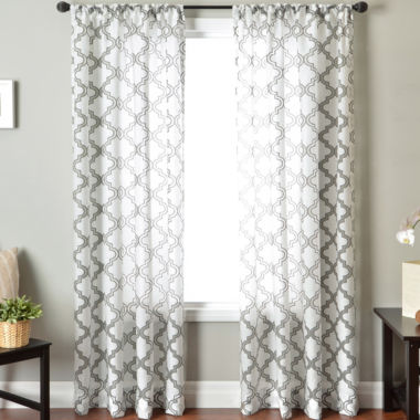 jcpenney.com | Princeton Rod-Pocket Sheer Panel