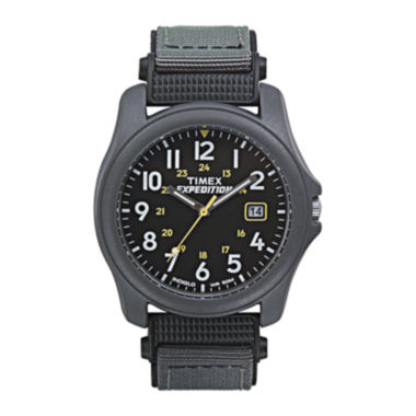 jcpenney.com | Timex® Expedition® Camper Mens Gray Nylon Strap Watch T425719J