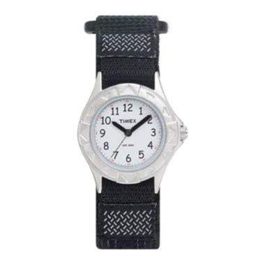 jcpenney.com | Timex® My First Timex Outdoors Kids Black Nylon Fast Strap Watch T790519J