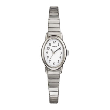 jcpenney.com | Timex® Cavatina Womens Stainless Steel Expansion Bracelet Watch T219029J