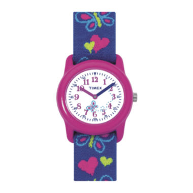 jcpenney.com | Timex® Easy Reader Kids Blue Fabric Strap Watch T890019J