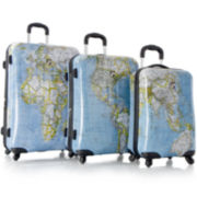 Heys® Journey Maps 3-pc. Hardside Spinner Luggage Set
