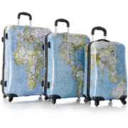 Heys® Journey Maps Hardside Spinner Luggage Collection