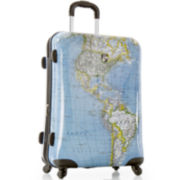 "Heys® Journey Maps 26"" Hardside Spinner Luggage"