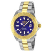 Invicta® Pro Diver Mens Two-Tone 18K Gold Over Stainless Steel Sport Watch 15181