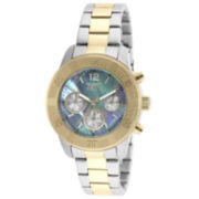 Invicta® Angel Womens Two-Tone Mother-Of-Pearl Bracelet Watch 21613