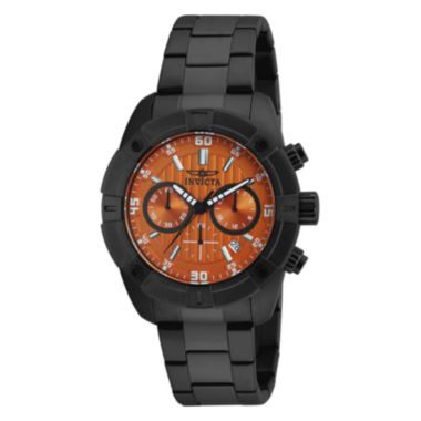 jcpenney.com | Invicta® Specialty Black Strap Orange Dial Watch 17447