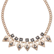 Mixit™ Black and Gold Statement Necklace