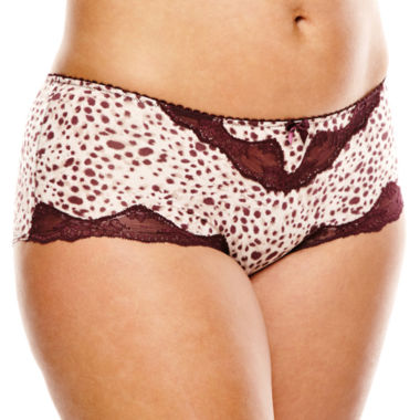 jcpenney.com | Marie Meili Chalice Hipster Panties - Full Figure