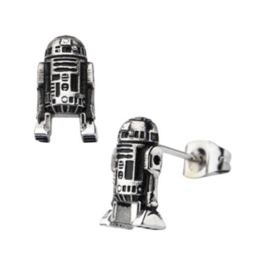 jcpenney.com | Star Wars® Stainless Steel R2-D2 Stud Earrings