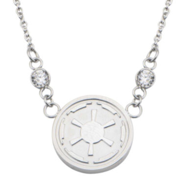 jcpenney.com | Star Wars® Stainless Steel Imperial Symbol Pendant Necklace