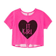 Total Girl® Sequin Top - Girls 7-16 and Plus