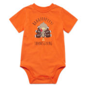 Okie Dokie® Thanksgiving Bodysuit - Baby Boy newborn-24m