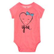 Okie Dokie® Graphic Bodysuit - Baby Girls newborn-24m