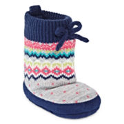 Carter's® Fair Isle Slipper Socks - Baby Girls newborn-12m