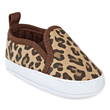 jcpenney.com | Carter's® Cheetah-Print Slip-Ons - Baby Girls 3m-12m