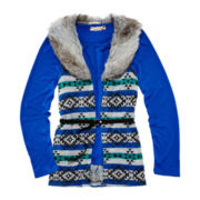 Speechless® Belted Vest and Top - Girls 7-16